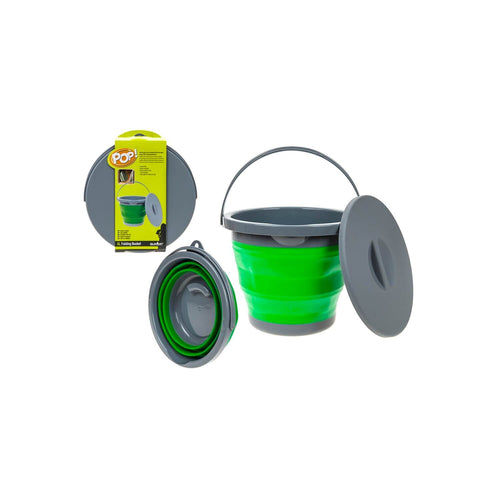 Summit Pop 5L Bucket With Lid Green