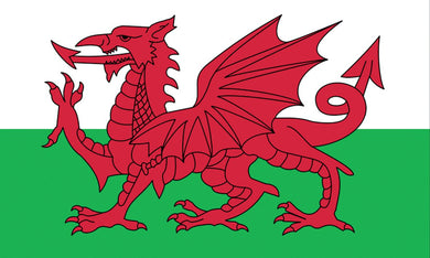 Wales Welsh Dragon Flag 5ft by 3ft, windsocks
