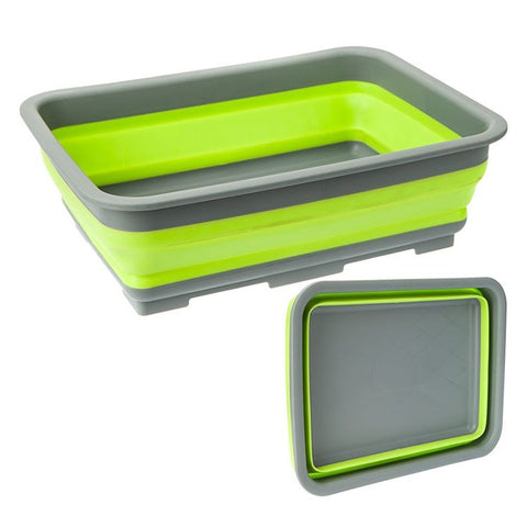 Summit Pop Chopping Board With Folding Colander Compact space saving design