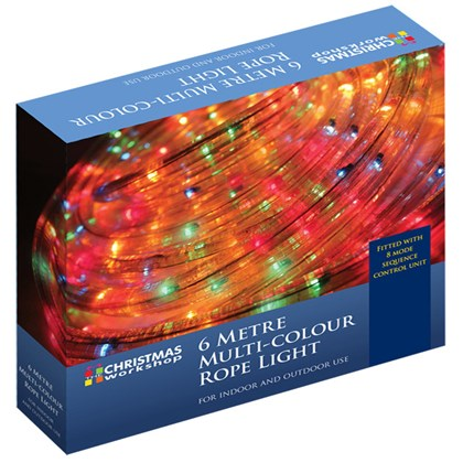 6m Multi Coloured Tape Lights