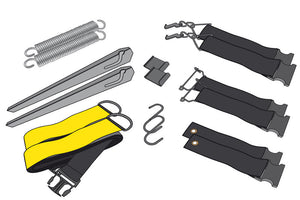 Unica, Universal Tie Down Set - HABA