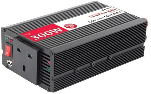 Mercury DC to AC power inverter, 12Vdc, 300W - Soft start