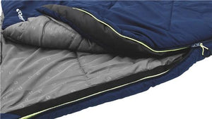 Outwell Royal Blue Contour Junior 2 Season Sleeping Bag