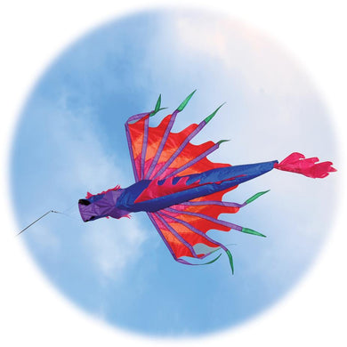 Dragon Windsock, Blue