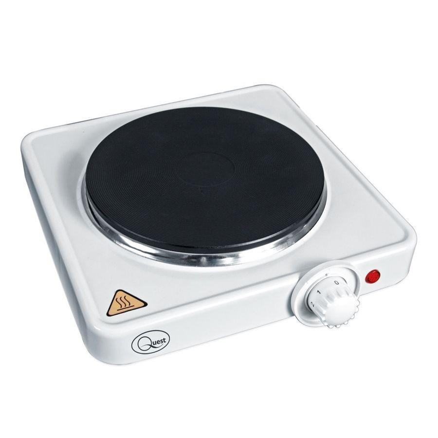 Quest Electrical 1500 Watt Single Hotplate