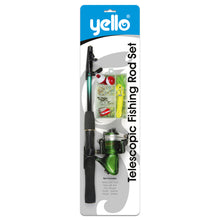 Yello Telescopic Junior Fishing Rod Set