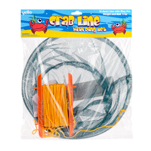Crab Line Drop Net With Metal Ring and Handles
