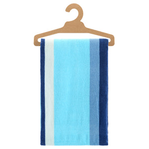 Urban Beach Blue Stipe Cotton Towel