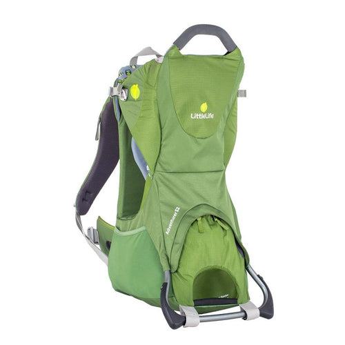 LittleLife Adventurer S2 Child Carrier - Green