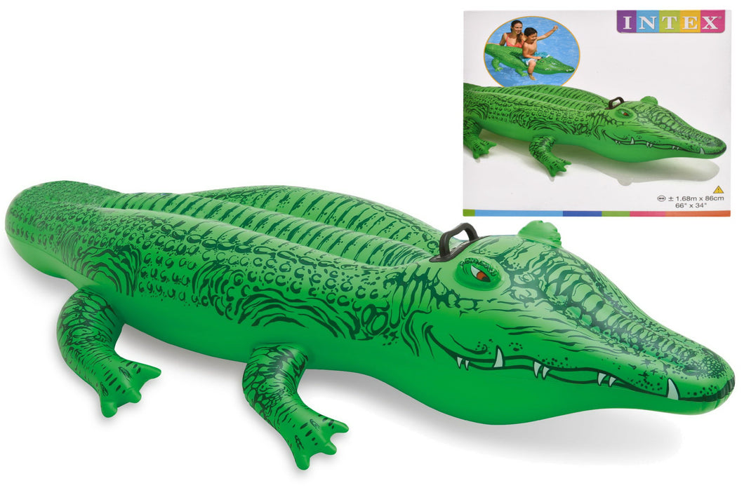 Intex Inflatable Lil Alligator Ride On Beach Toy