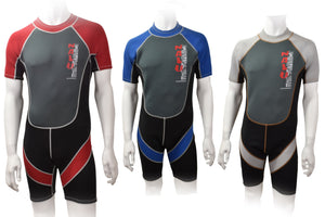 Nalu Childrens Shorty wetsuits Red