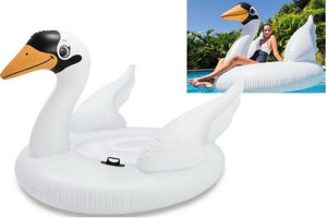 Intex Inflatable Swan Ride On Beach Toy