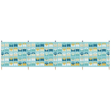 VW 5 Pole Windbreak (Blue)