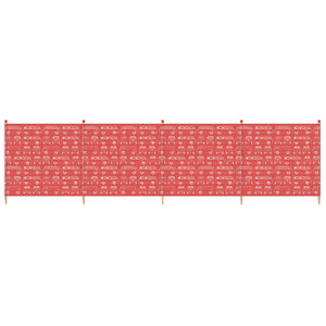 VW 5 Pole Windbreak (Red)
