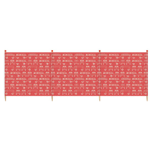 VW Yello 4 Pole Windbreak (RED)