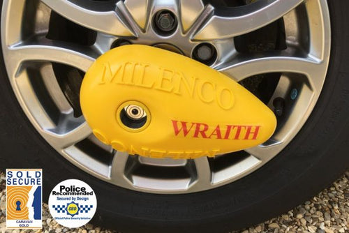 Milenco Wraith Wheel Lock