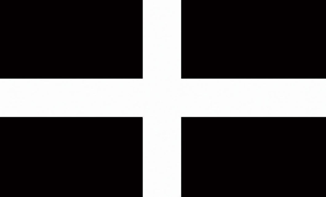 Cornwall St Piran Flag 5ft by 3ft, windsocks