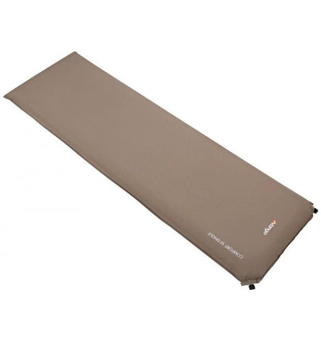 The luxurious Comfort range of self-inflating sleeping mats offers unrivalled comfort and convenience,