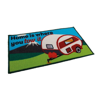 Quest Washable home is where you Tow it Caravan mat