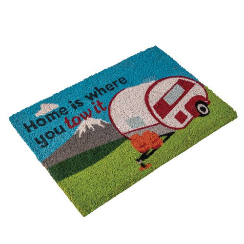 Quest Heavy Duty 'Home is where you tow it' Caravan Mat