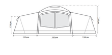 Outdoor Revolution Camp Star 1200 Air Tent Bundle
