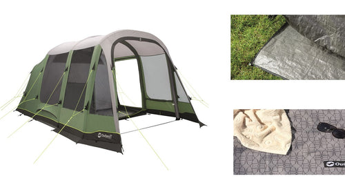 Outwell Chatham 6A Air Tent Package  (2019)