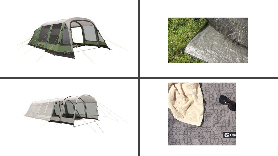 Outwell Chatham 6A Air Tent Package with Extension   (2019)