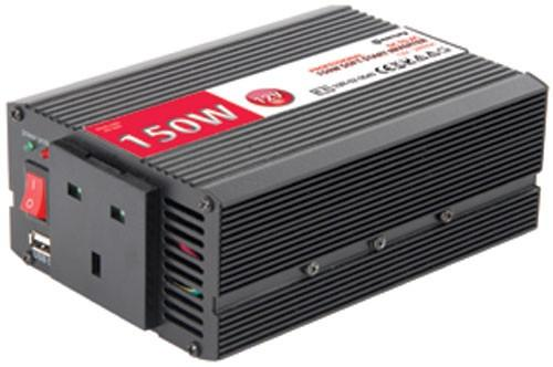 Mercury DC to AC power inverter, 12Vdc, 150W - Soft start