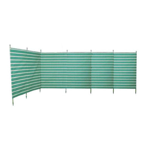 Blue Diamond 7 Pole Green Windbreak