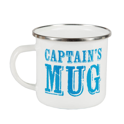 Sass and Belle Enamel Captains Mug