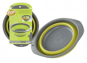 Summit Pop Space Saver Bowl 24cm  Lime/Grey