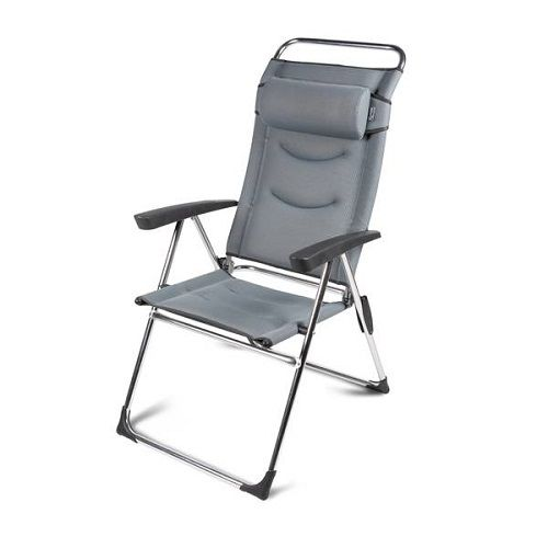 Kampa Dometic Lusso Milano Chair - pebble grey