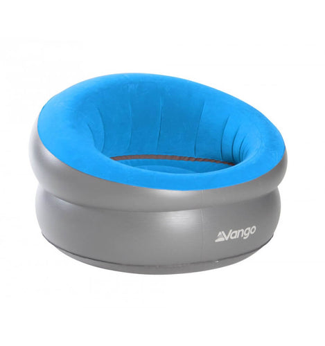 Vango Inflatable Deluxe Flocked Chair ( Blue)