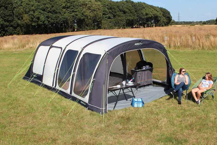 Outdoor Revolution Airedale 6 Air Tent - with SNUG RUG