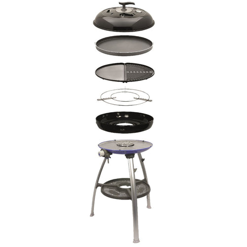 Cadac Carri Chef 2 Gas BBQ With Plancha & Chef Pan Combo