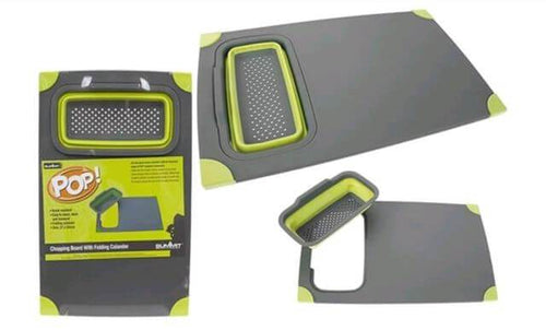 Summit Pop Non Slip Chop Board Green