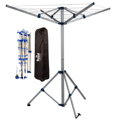 Royal 4 Arm Folding Washing Line