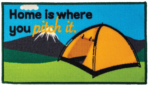 Quest Washable home is where you pitch it (tent) mat
