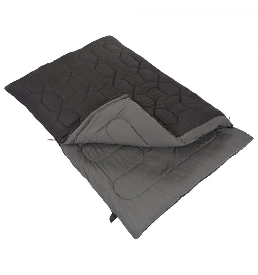Vango Serenity Superwarm Double Sleeping Bag (Shadow)