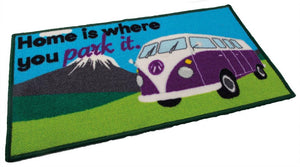 Quest Washable home is where you park it Campervan mat