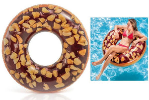 Intex Inflatable Giant Donut Chocolate Nut