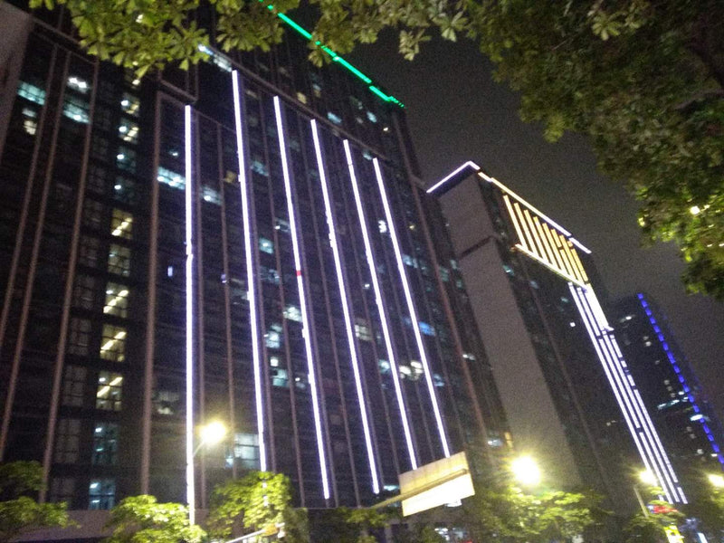 Our New Office Building In Huangpu @ Night :-) We Love It!