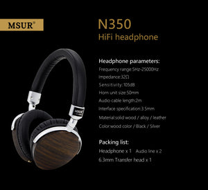 MSUR N650 High End Headphone by DestinY