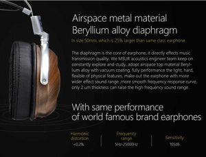 MSUR N550 High End Headphone by DestinY