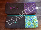 Personalised Pen Pouches