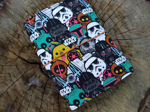 "B6 NicDori Travellers Notebook Starter Pack - Star Wars ""Baddies"""