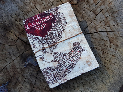 A6 NicDori Travellers Notebook Starter Pack - Marauders Map