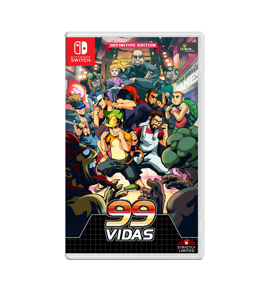 99Vidas - Definitive Edition (Nintendo Switch) - Preorder