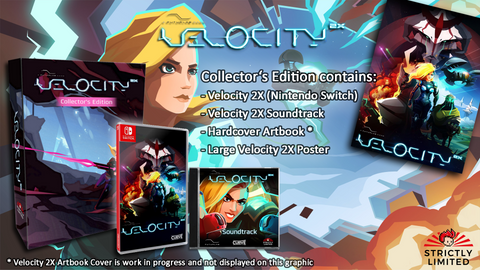 Velocity 2X Collector's Edition (Nintendo Switch) - Preorder