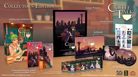 Coffee Talk Collector's Edition (NSW) - Preorder